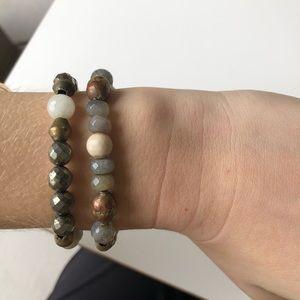 Jewelry - beaded multicolored bracelets
